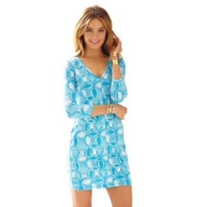 Lilly Pulitzer Juliet V-Neck T-Shirt Dress - M